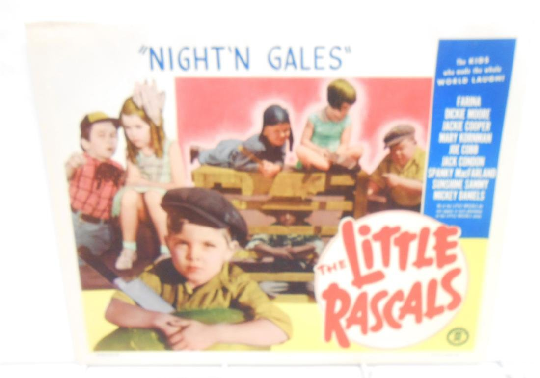 (9) LITTLE RASCALS LOBBY CARDS - 8