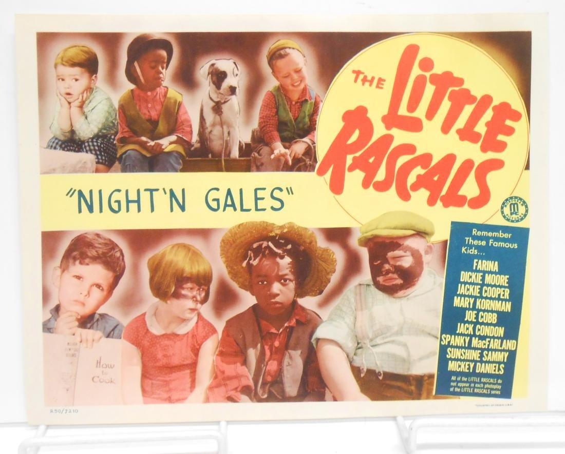 (9) LITTLE RASCALS LOBBY CARDS - 9