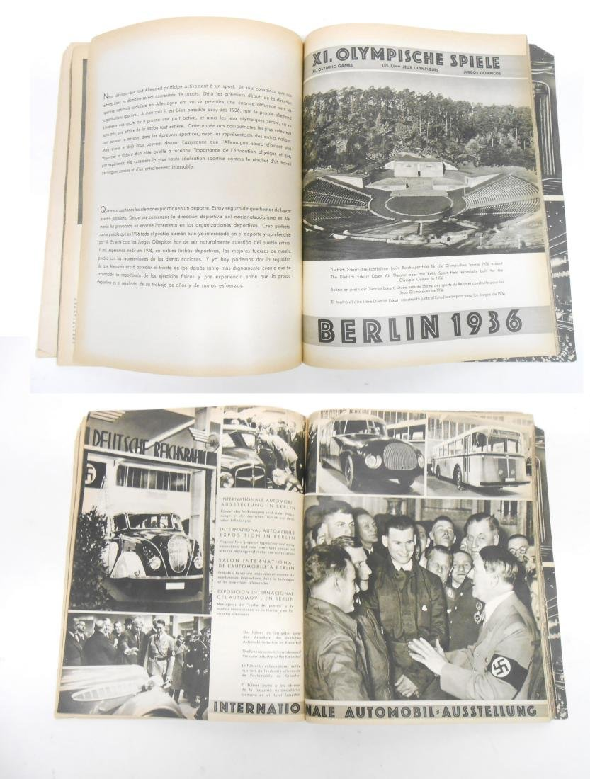 GERMAN OLYMPIC YEAR 1936 BOOKS & PROGRAMS - 10