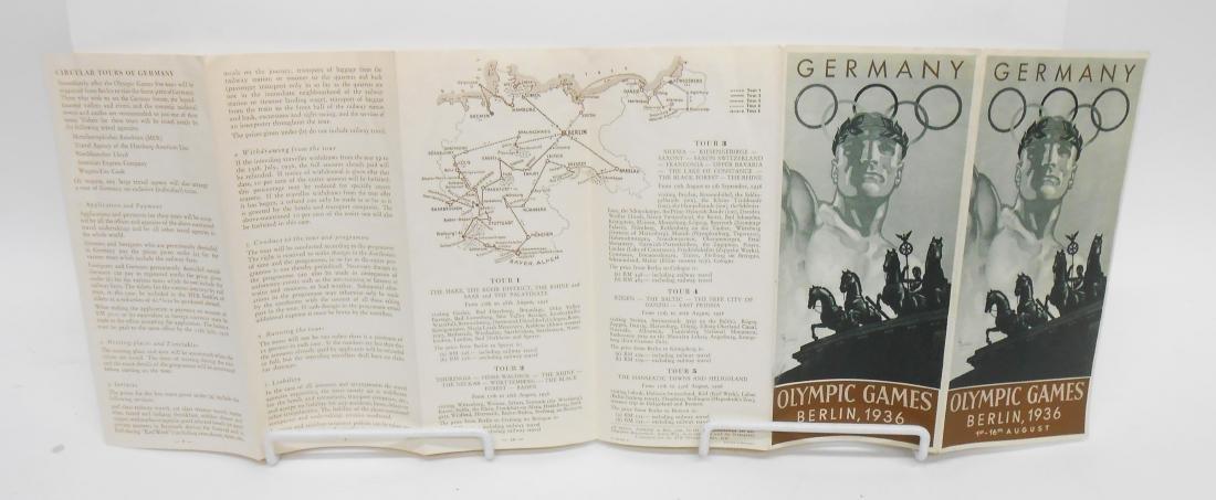 GERMAN OLYMPIC YEAR 1936 BOOKS & PROGRAMS