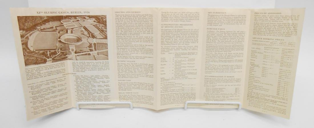 GERMAN OLYMPIC YEAR 1936 BOOKS & PROGRAMS - 2