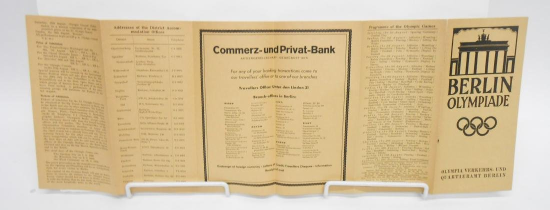GERMAN OLYMPIC YEAR 1936 BOOKS & PROGRAMS - 3
