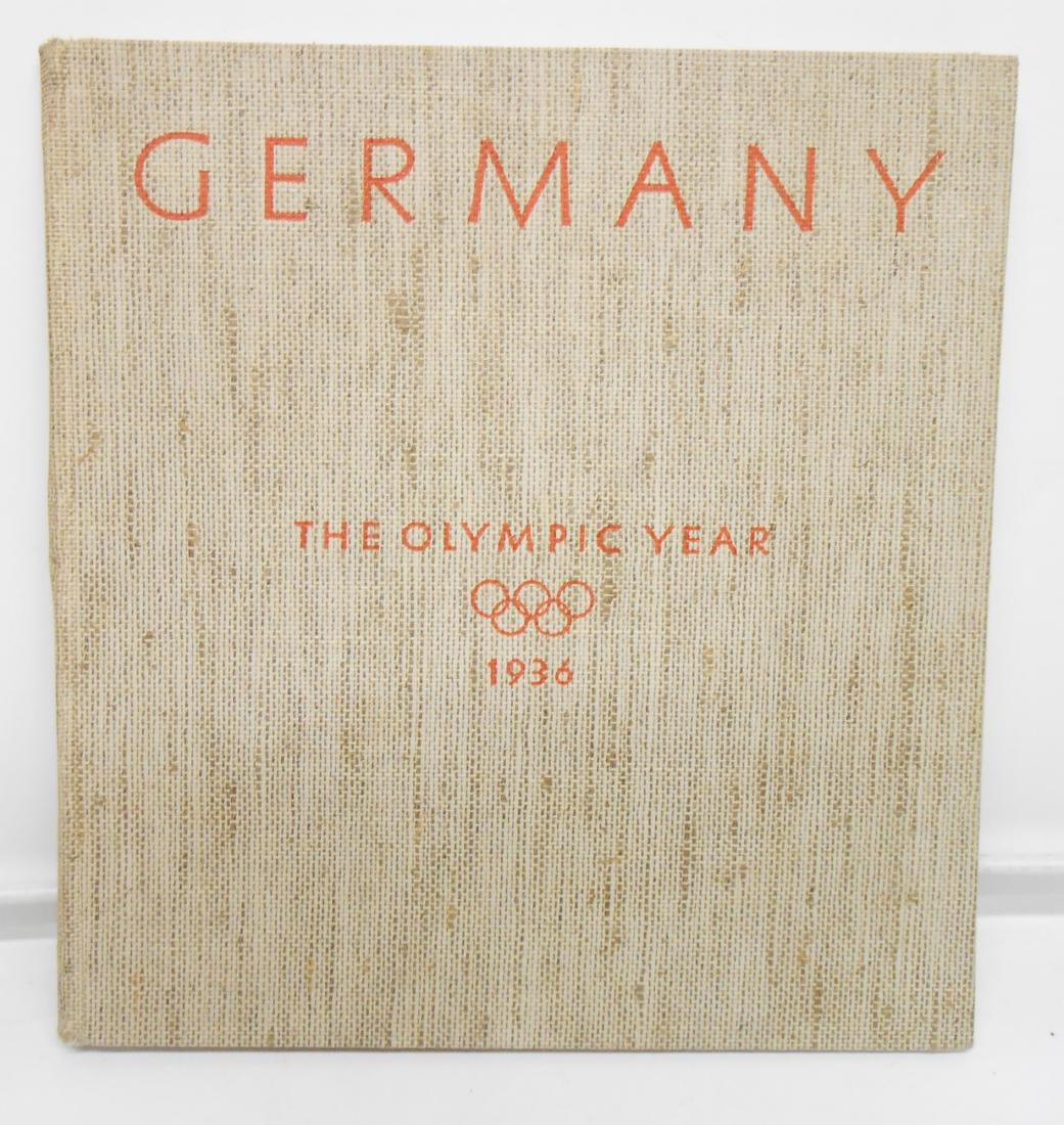 GERMAN OLYMPIC YEAR 1936 BOOKS & PROGRAMS - 5