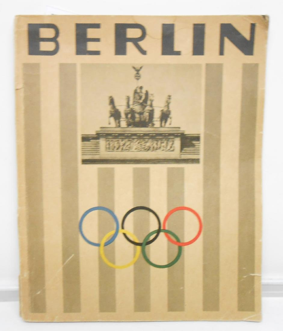GERMAN OLYMPIC YEAR 1936 BOOKS & PROGRAMS - 9