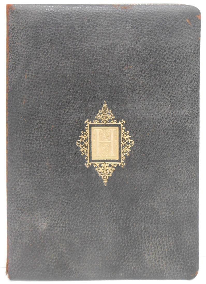 1906 CALLIGRAPHIC MEMORIUM BOOK FOR DR. FERNAND