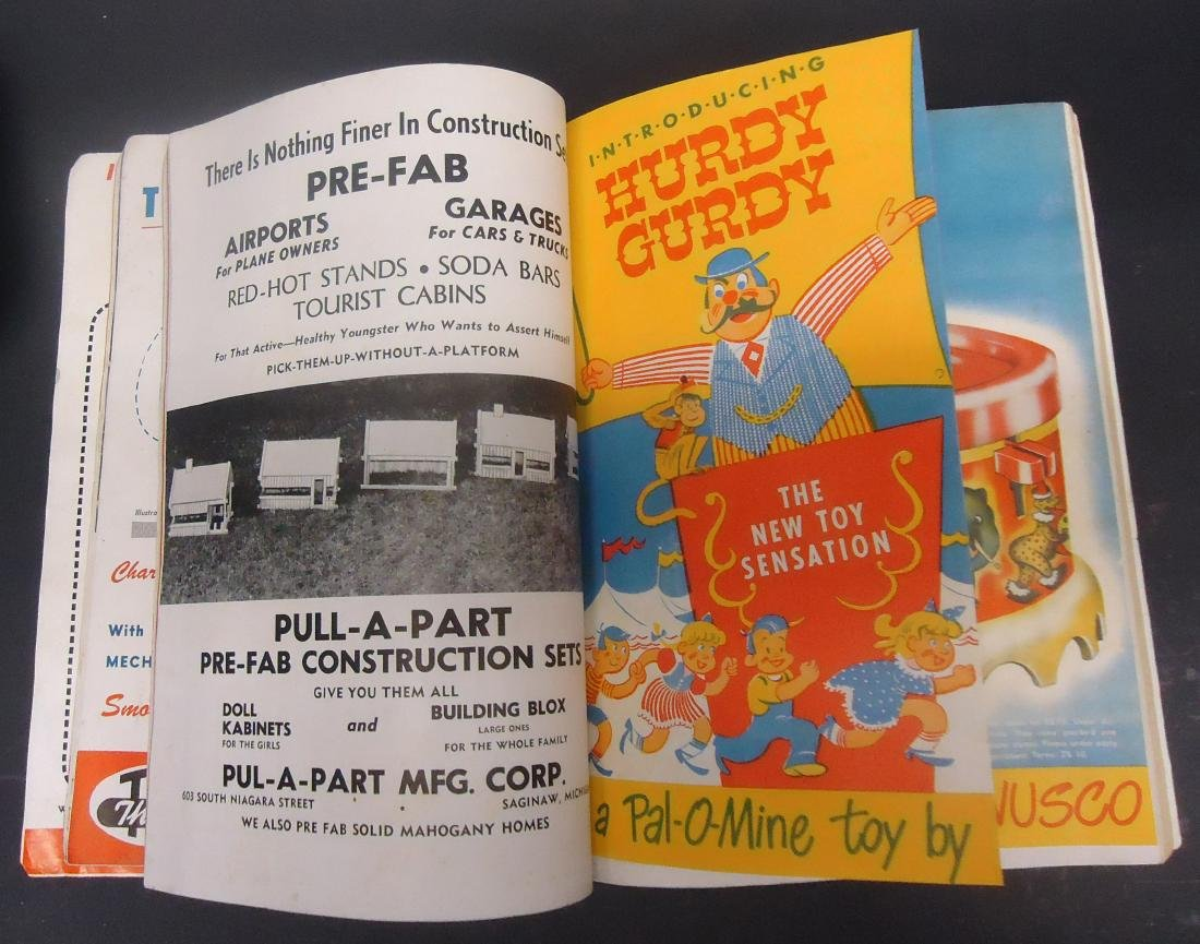 "(2) ""TOYS & NOVELTIES"" CATALOGS - 2"