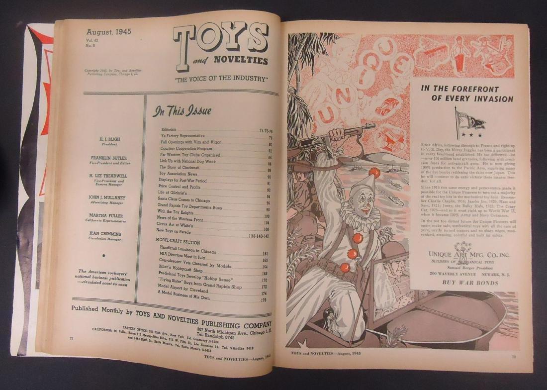"(2) ""TOYS & NOVELTIES"" CATALOGS - 6"