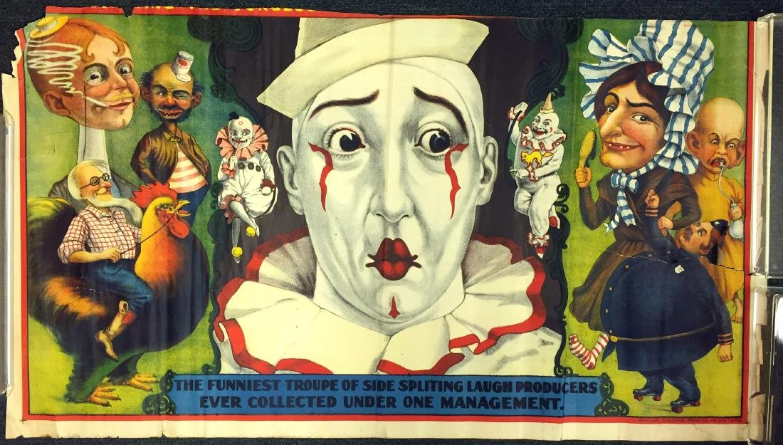EARLY CIRCUS POSTER FRAGMENT