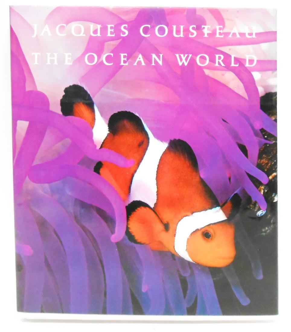 """JACQUES COUSTEAU """"THE OCEAN WORLD"""" BOOK"""