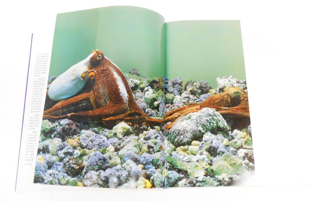 """JACQUES COUSTEAU """"THE OCEAN WORLD"""" BOOK - 2"""