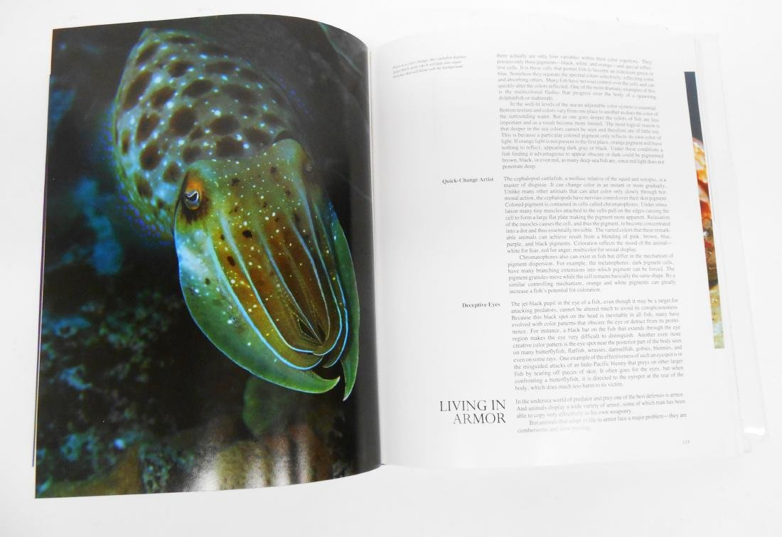 """JACQUES COUSTEAU """"THE OCEAN WORLD"""" BOOK - 3"""