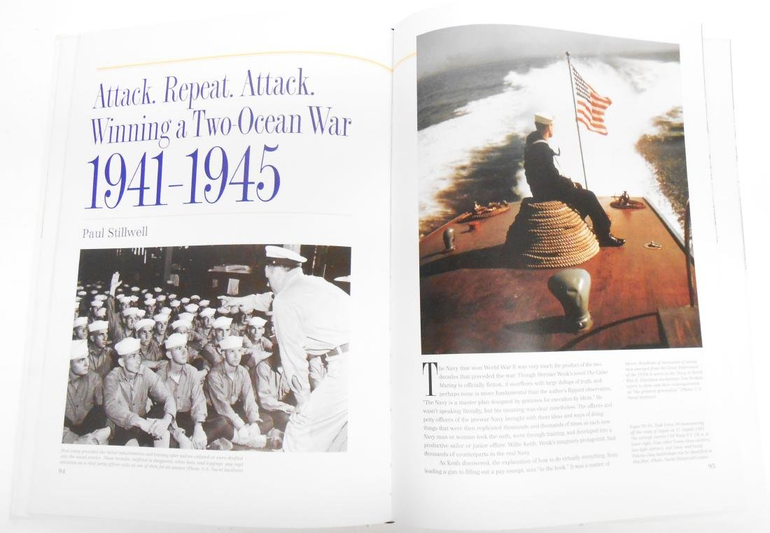 """THE NAVY"" NAVAL  HISTORICAL FOUNDATION BOOK - 2"