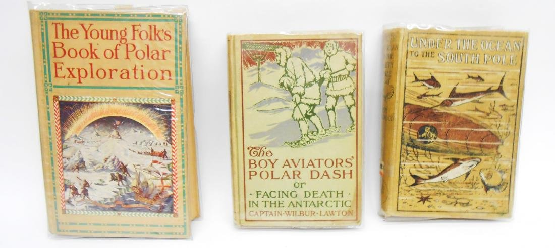 (6) ANTARCTIC EXPLORATION BOOKS FOR CHILDREN