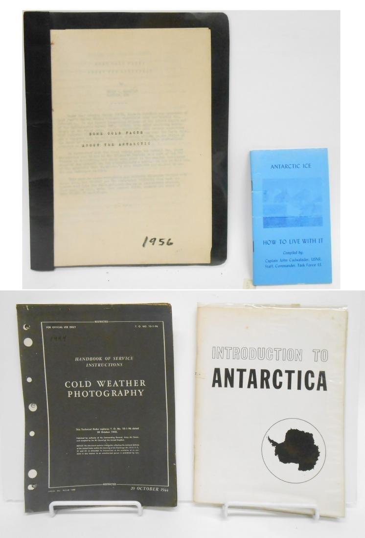 ANTARCTICA BROCHURES, BULLETINS & ATLASES (10)