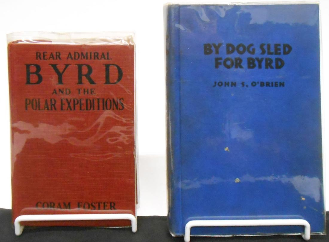 (4) ADMIRAL BYRD RELATED BOOKS