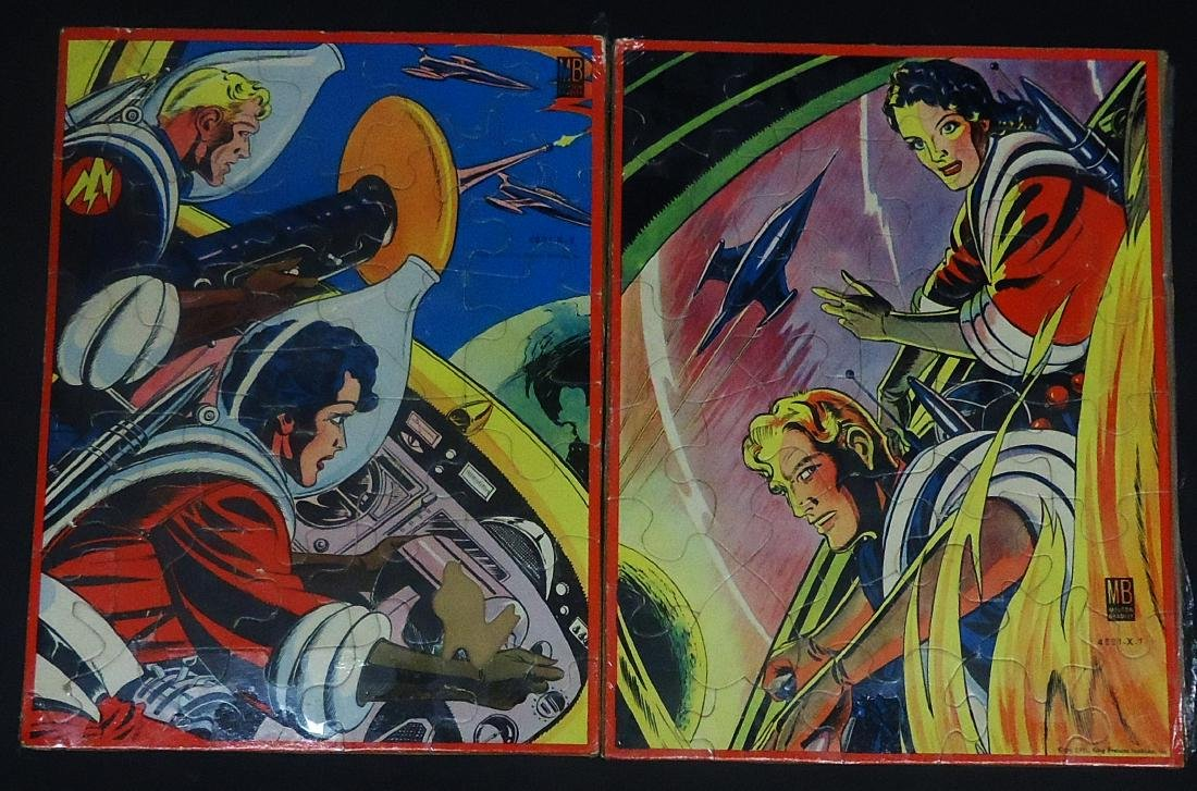 (2) 1951 FLASH GORDON JIGSAW PUZZLES