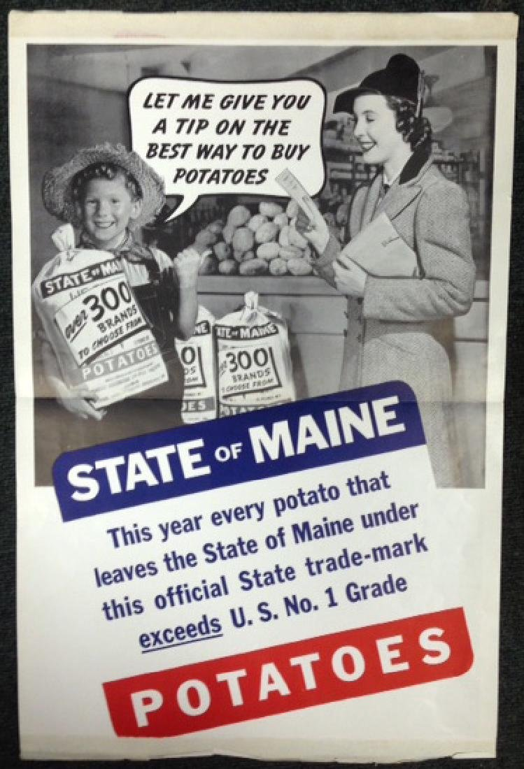 (3) STATE OF MAINE POTATOES ADS