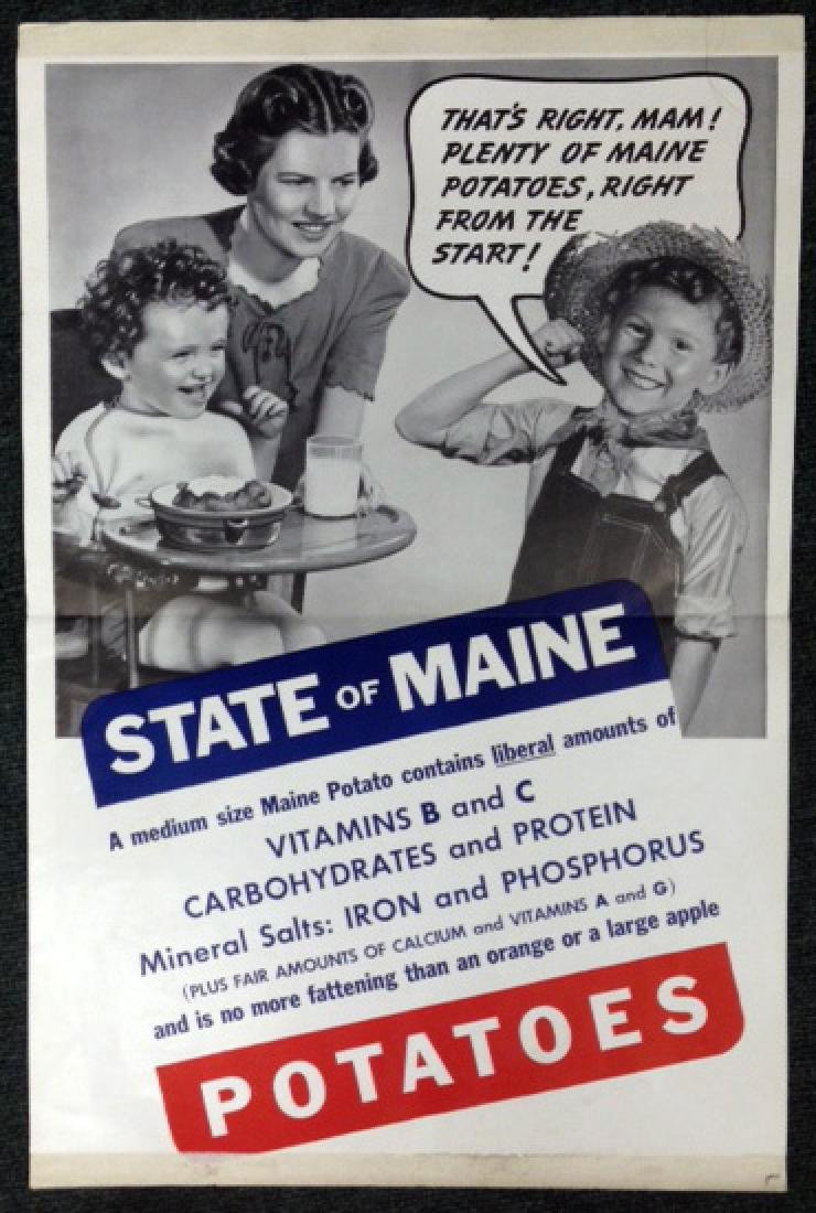 (3) STATE OF MAINE POTATOES ADS - 3