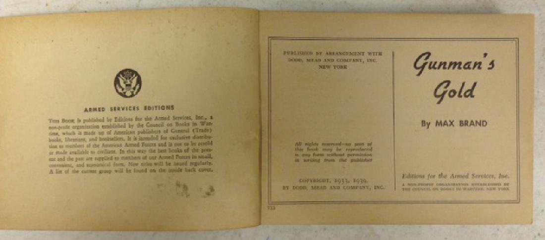 (45) 1930's and 40's ARMED FORCES BOOKS - 2
