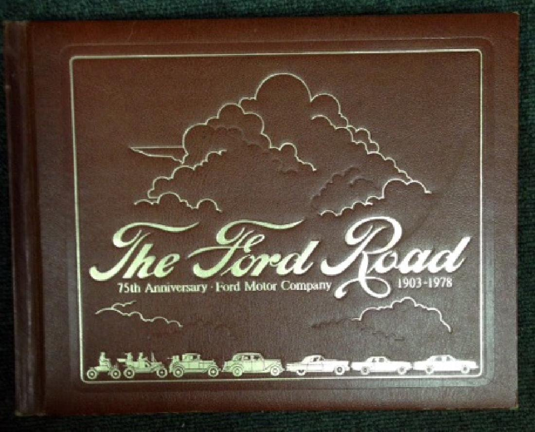 THE FORD ROAD BOOK - 75TH ANNIVERSARY