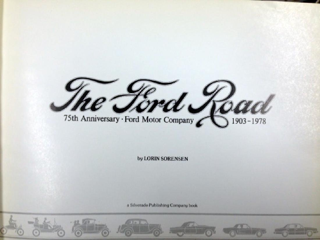 THE FORD ROAD BOOK - 75TH ANNIVERSARY - 3