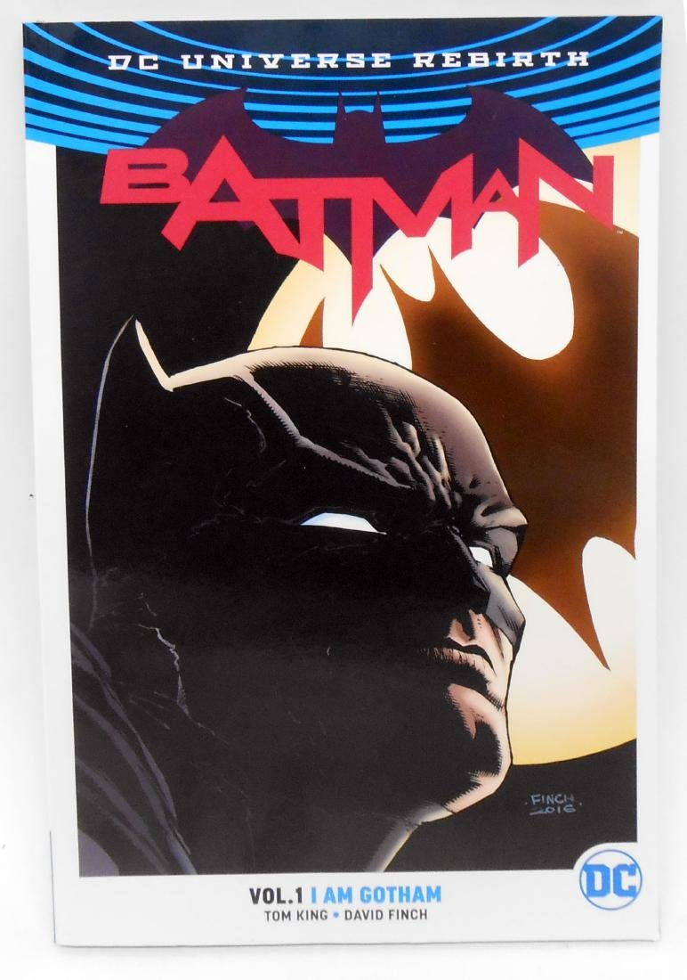 (5) BATMAN GRAPHIC NOVELS - 5