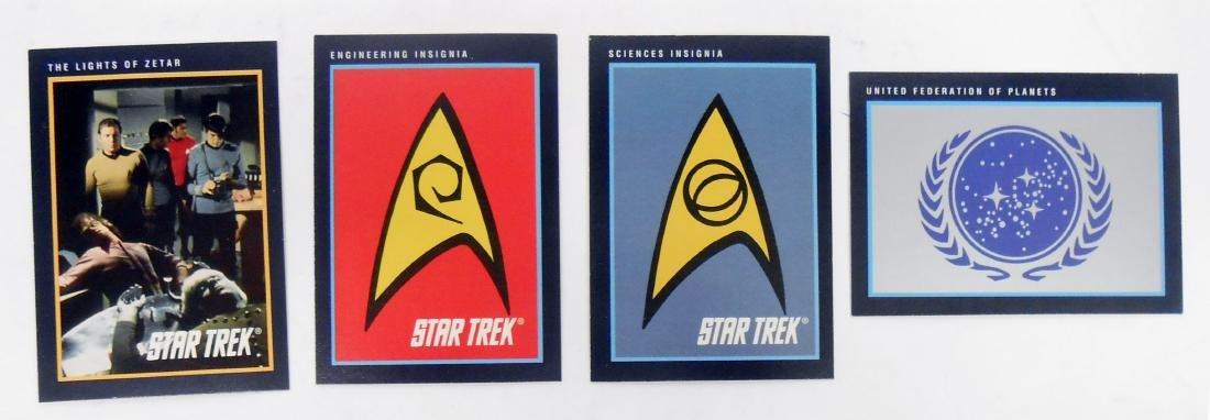 FULL SET OF CLASSIC STAR TREK SERIES COLLECTORS CARDS - 10