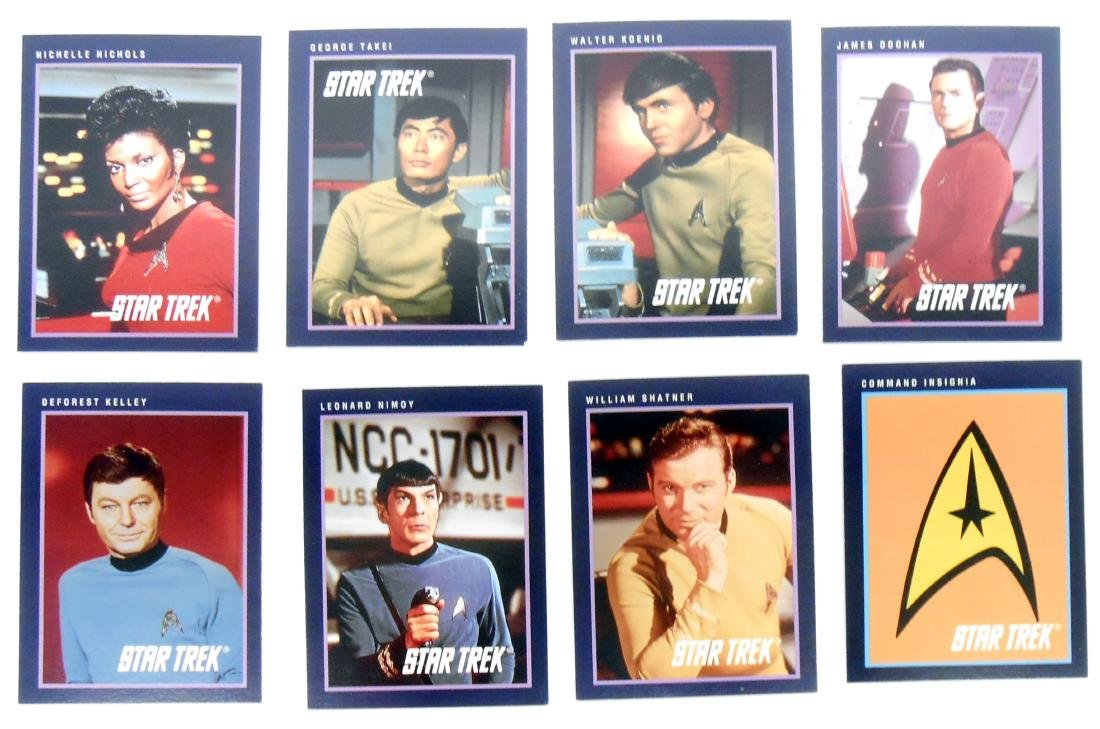 FULL SET OF CLASSIC STAR TREK SERIES COLLECTORS CARDS