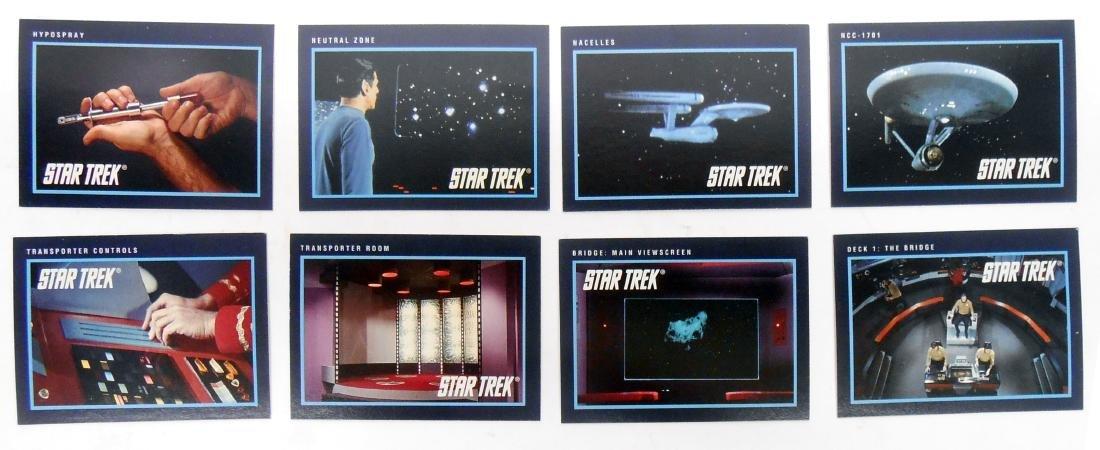 FULL SET OF CLASSIC STAR TREK SERIES COLLECTORS CARDS - 4