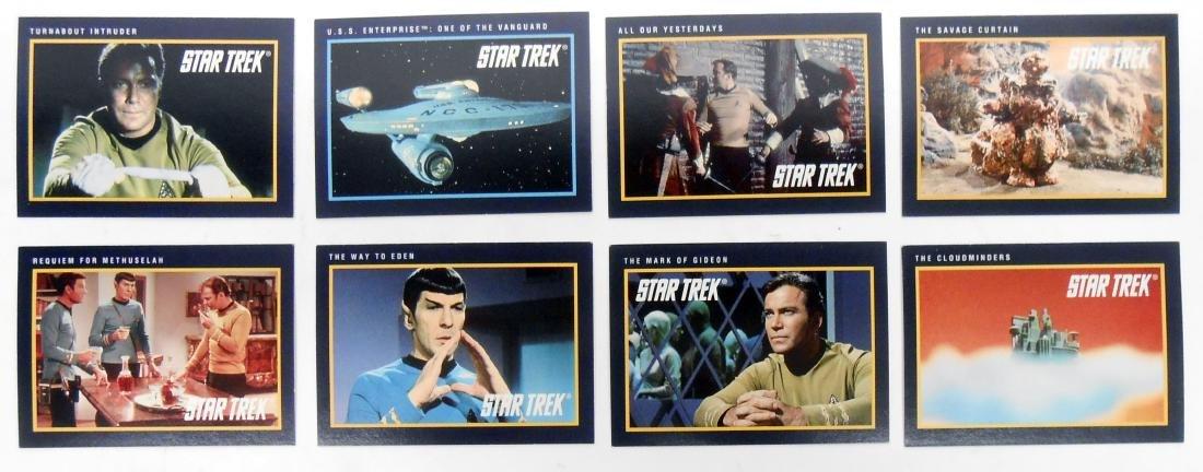 FULL SET OF CLASSIC STAR TREK SERIES COLLECTORS CARDS - 5