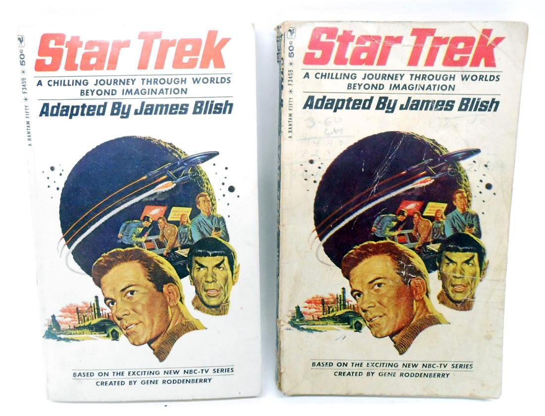 SELECTION OF STAR TREK PAPERBACKS (18)