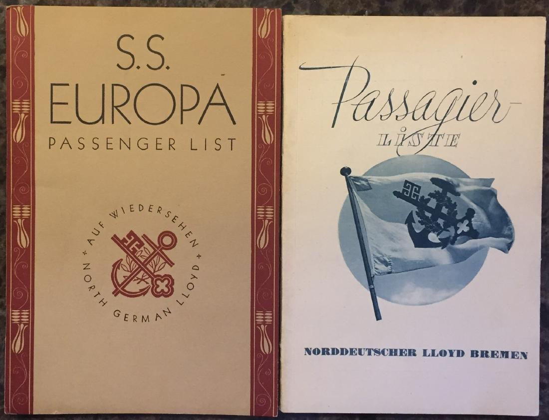 GERMAN TRAVEL BROCHURES & EPHEMERA CIRCA 1934 - 3