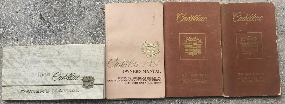 LARGE SELECTION OF 1970'S-80'S CAR MANUALS & BROCHURES - 3