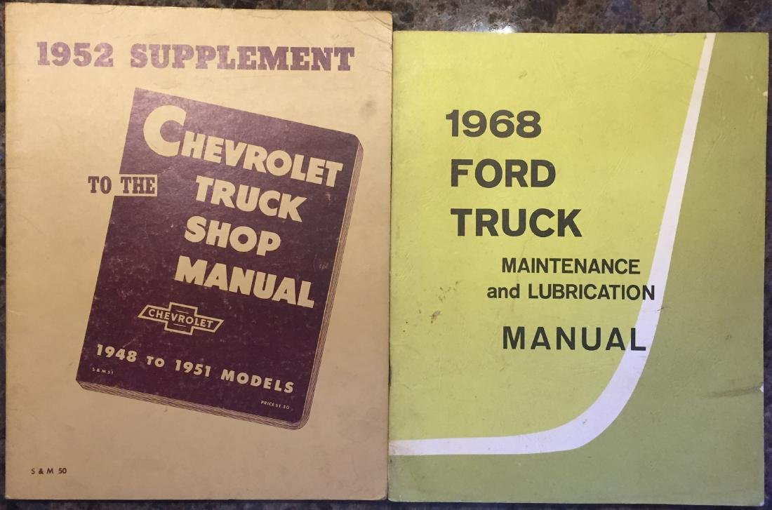 SELECTION OF TRUCK MANUALS  & OWNER'S GUIDES - 2