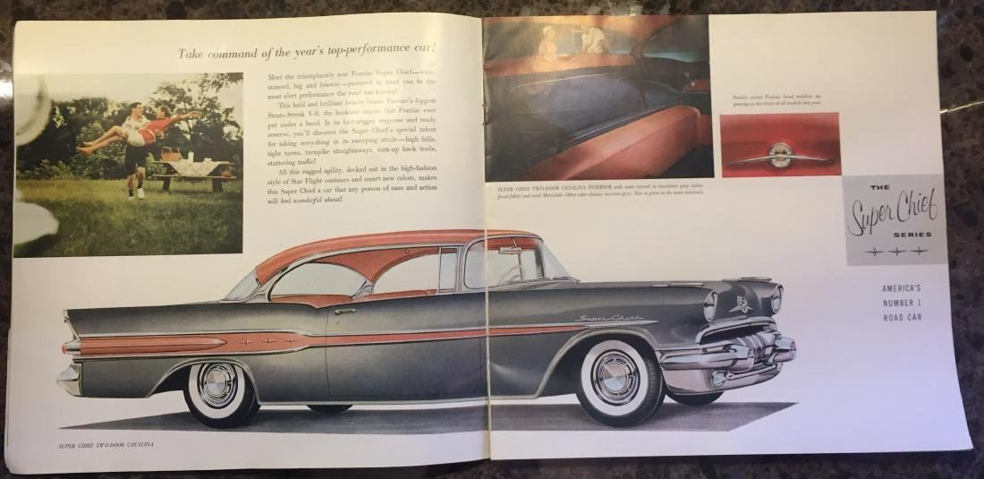 (5) 1950'S AUTOMOTIVE BROCHURES and BOOKLETS - 2