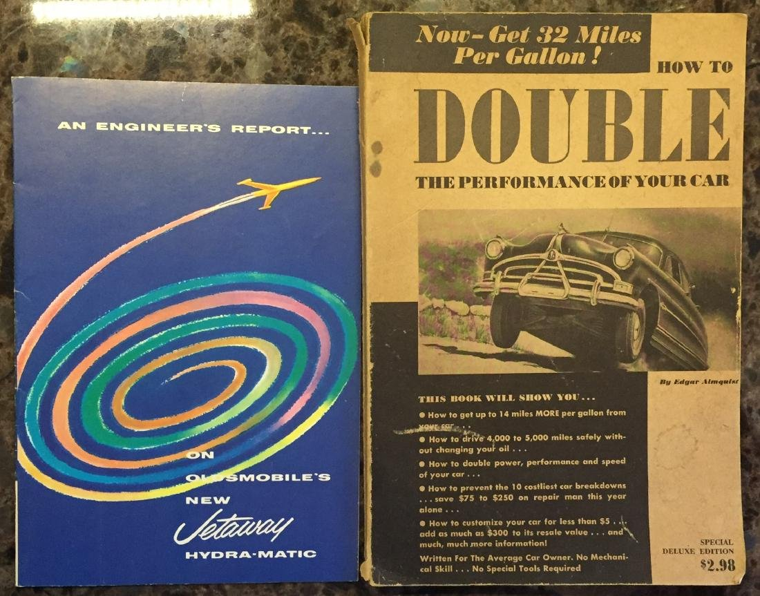 (5) 1950'S AUTOMOTIVE BROCHURES and BOOKLETS - 3