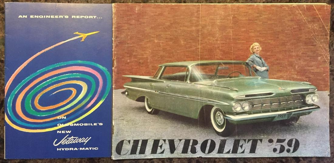 (5) 1950'S AUTOMOTIVE BROCHURES and BOOKLETS - 4