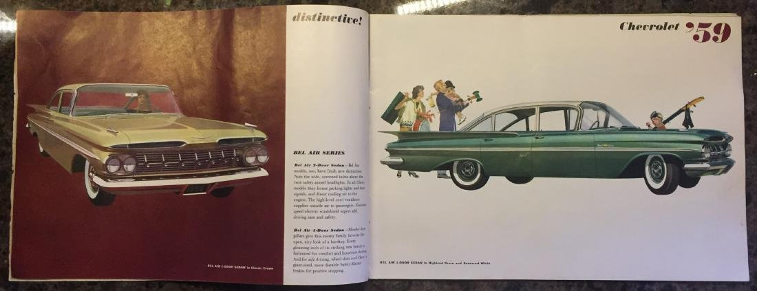 (5) 1950'S AUTOMOTIVE BROCHURES and BOOKLETS - 5