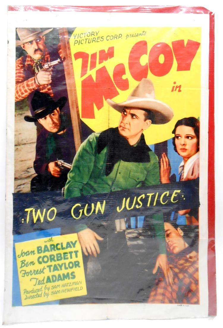 (2) WESTERN FILM POSTERS