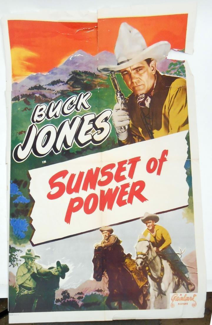 (2) WESTERN FILM POSTERS - 2