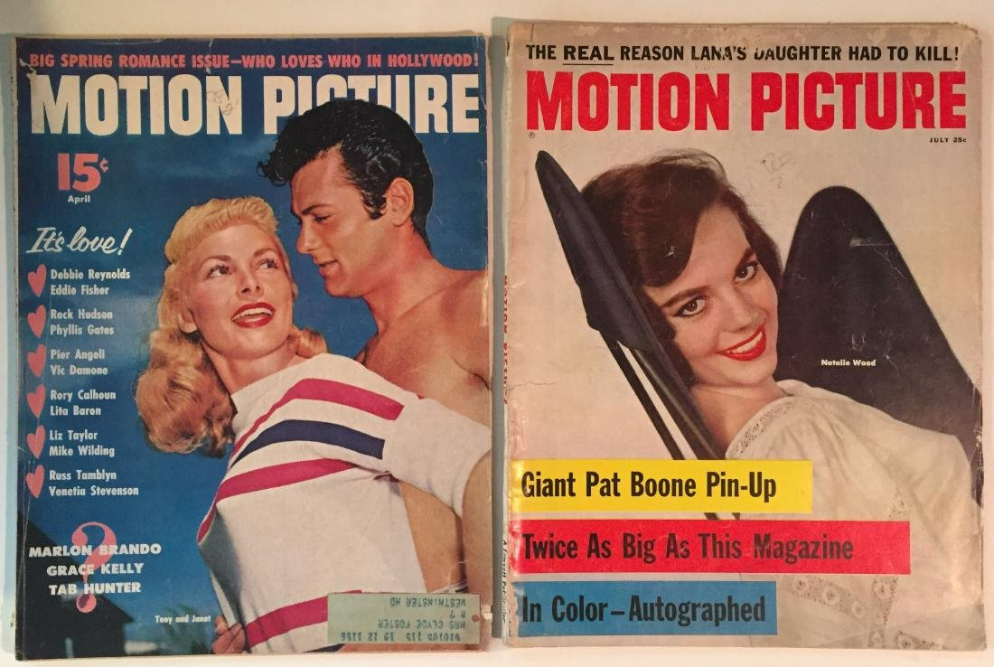 (9) TELEVISION & FILM STAR MAGAZINES