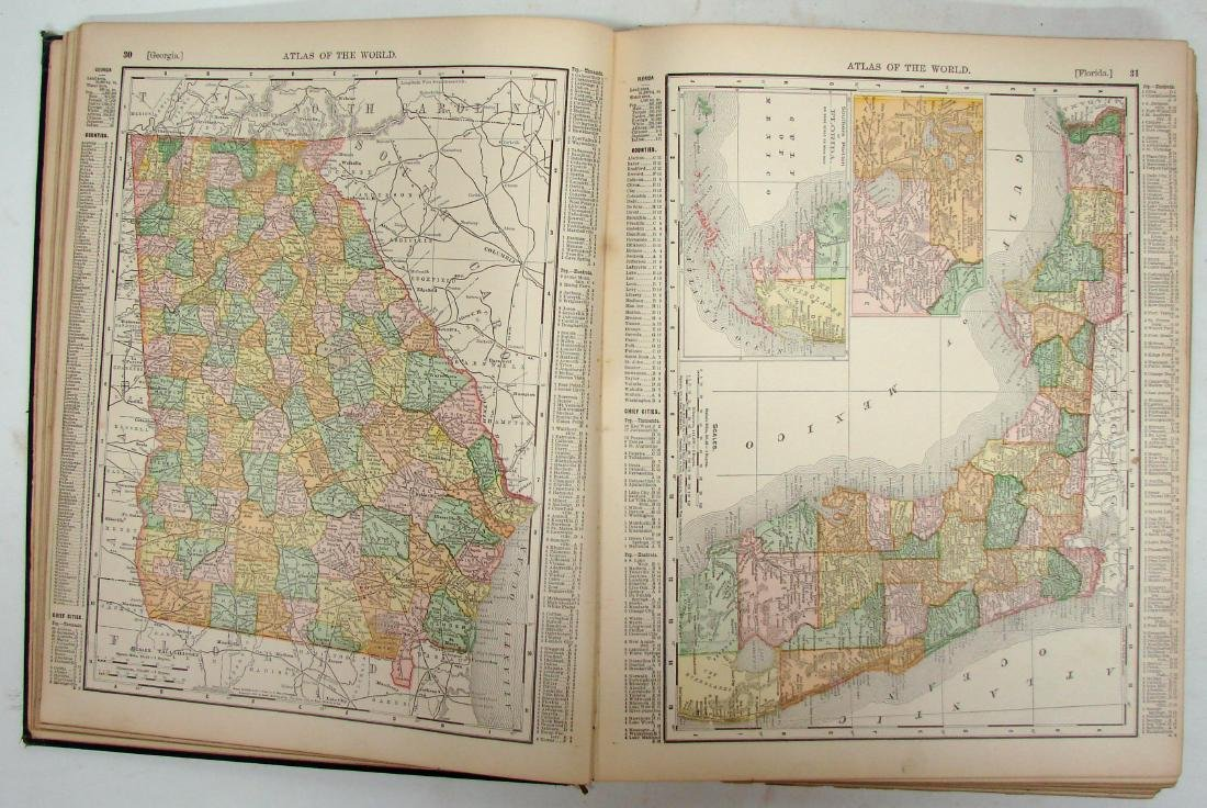 PHILADELPHIA PUBLIC LEDGER'S ATLAS OF THE WORLD - 4