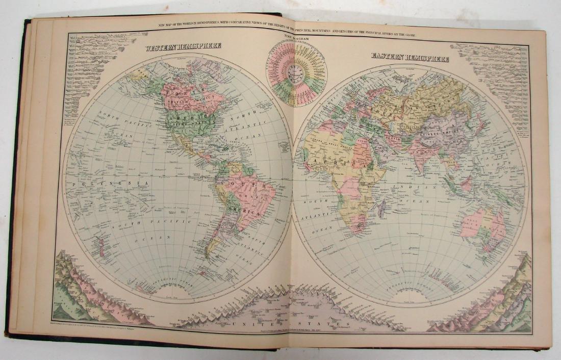 NATIONAL ATLAS - PHILADELPHIA W. W. GRAY & SON, 1893 - 3