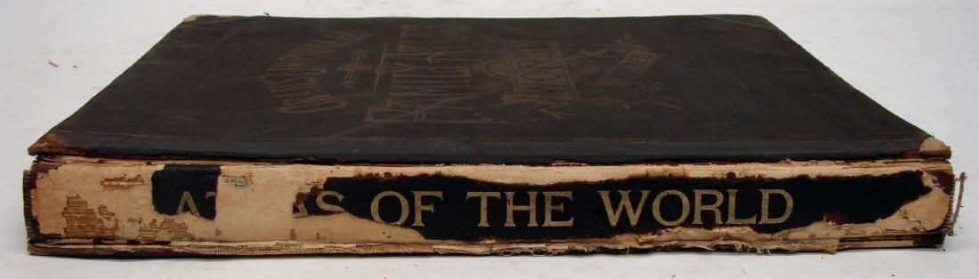 CRAM'S UNRIVALED FAMILY ATLAS OF THE WORLD, 1893 - 4