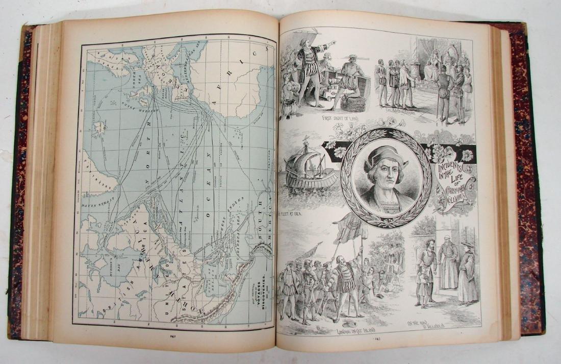 CRAM'S UNRIVALED FAMILY ATLAS OF THE WORLD, 1893 - 5