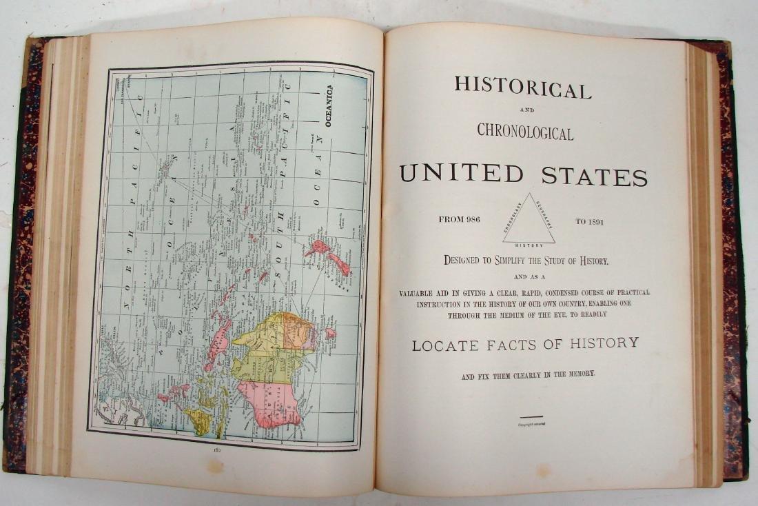 CRAM'S UNRIVALED FAMILY ATLAS OF THE WORLD, 1893 - 7