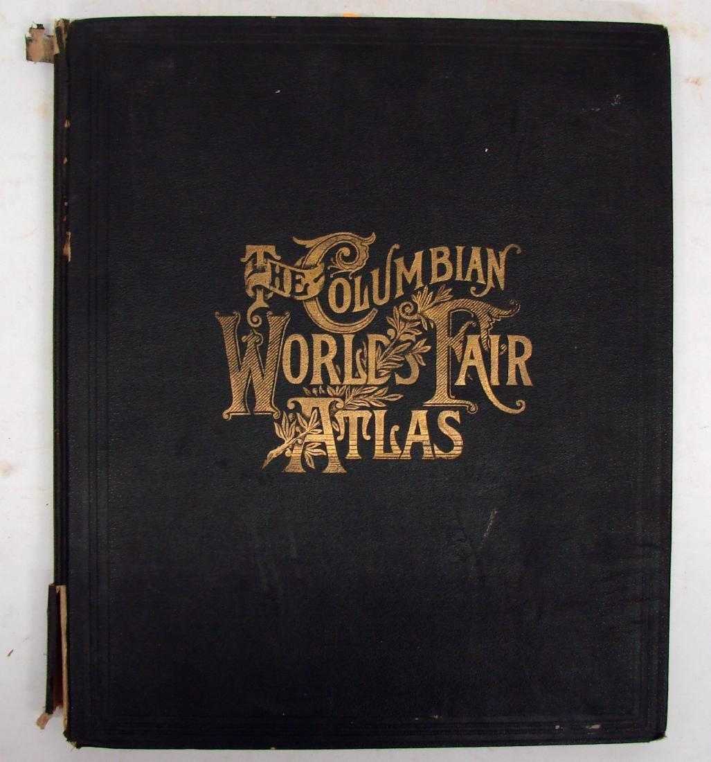 THE COLUMBIAN WORLD'S FAIR ATLAS, 1893