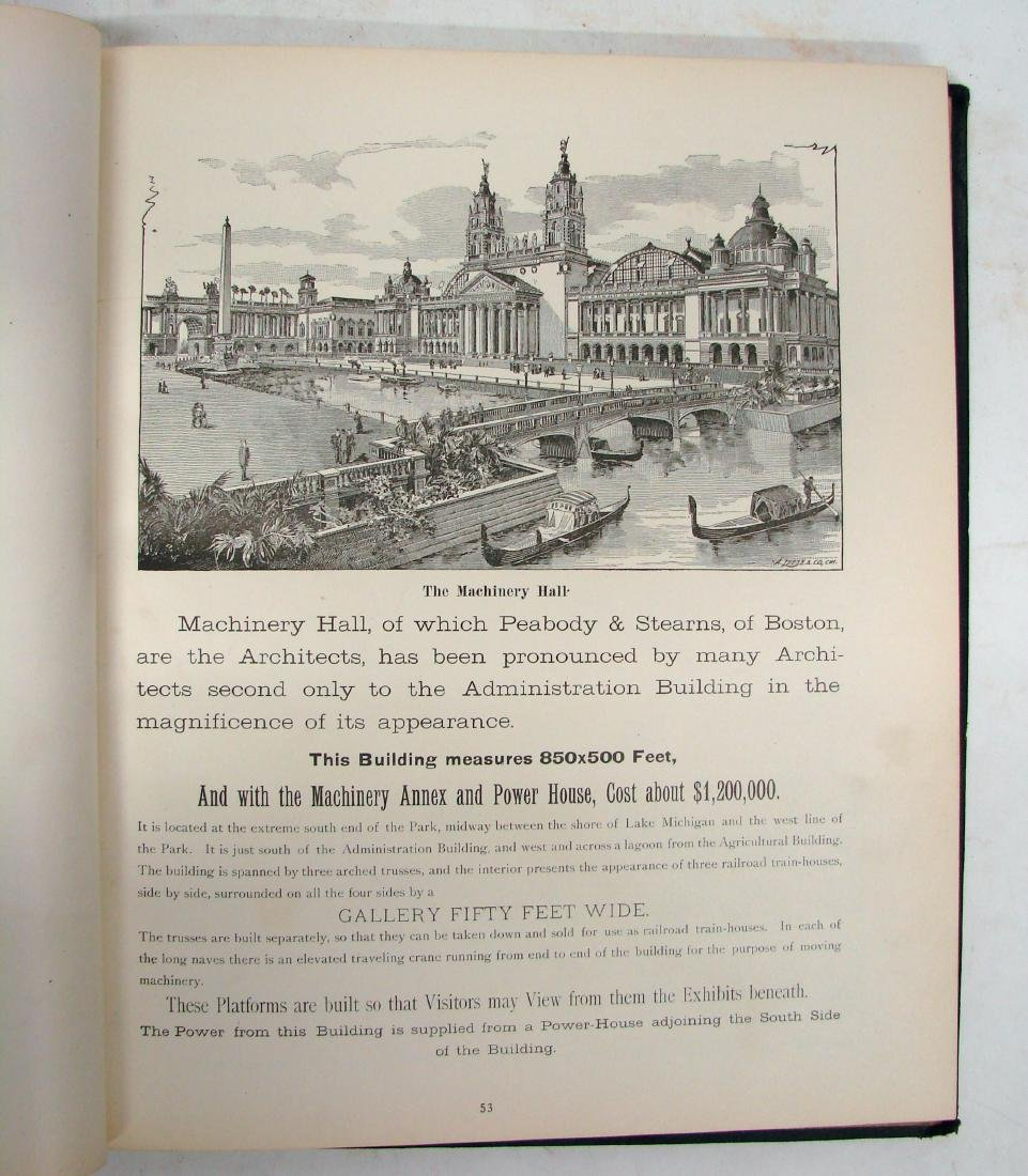 THE COLUMBIAN WORLD'S FAIR ATLAS, 1893 - 4