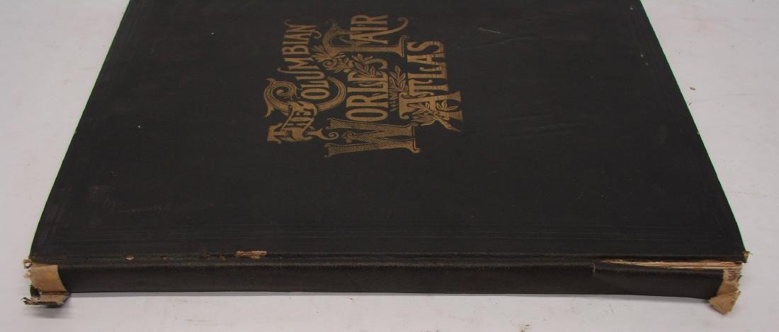 THE COLUMBIAN WORLD'S FAIR ATLAS, 1893 - 8