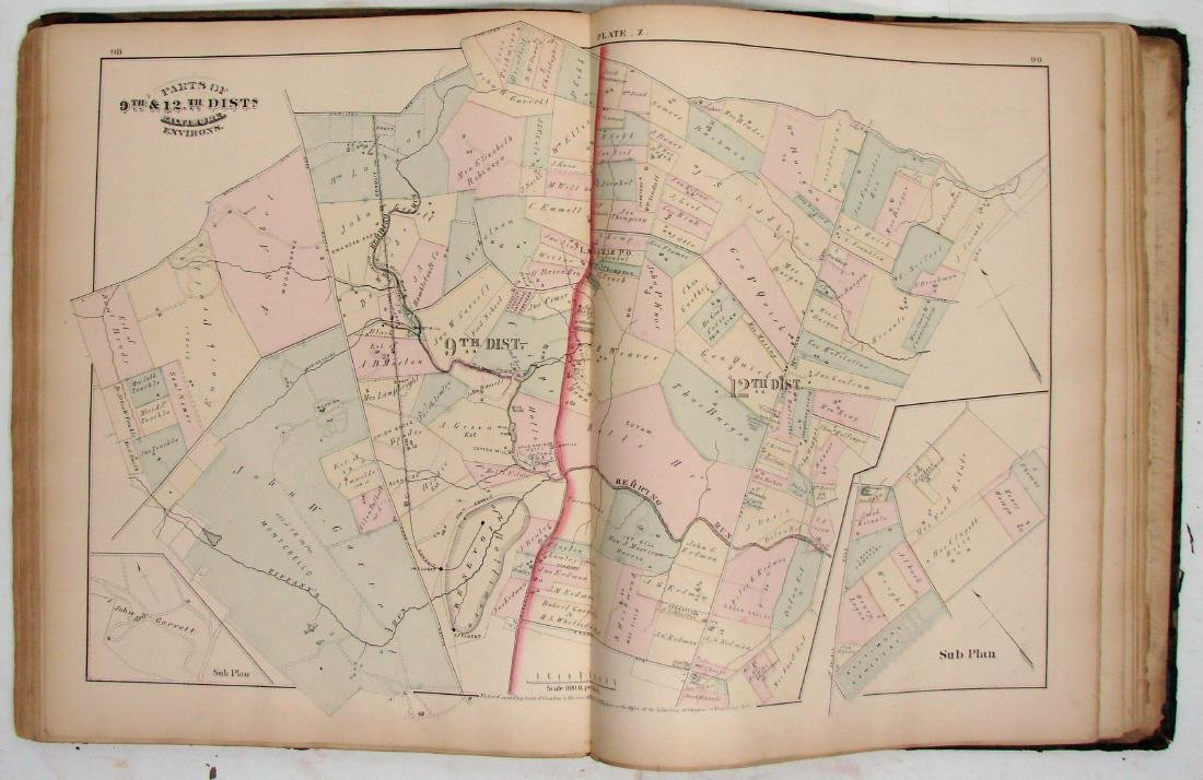 C. M. HOPKINS ATLAS OF BALTIMORE and BALTIMORE COUNTY - 9